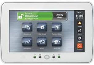 alarm key pad